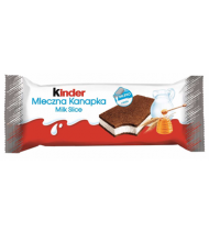 Biskvitinis pyragaitis KINDER MILCHSHNITTE su pienišku įd., 28 g