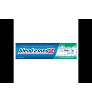Dantų pasta BAM 3D WHITE MINT KISS, 100 ml