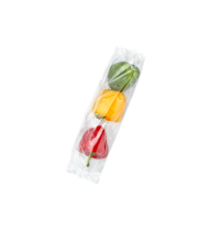Įvairiaspalvių paprikų rinkinys, 500 g