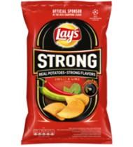 Bulv.traškuč.čili pipirų ir žaliųjų citrinų sk. LAY'S STRONG, 210 g