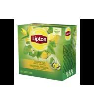 Arom. žalioji arbata LIPTON su citrinų žievel. ir melisomis, 20 vnt.