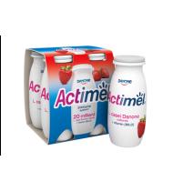 Braškių skonio jogurtinis gėrimas ACTIMEL, 1,5% rieb., 400 g