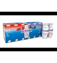 Įvairių skonių jogurtinis gėrimas ACTIMEL (12 x 100 g), 1,2 kg