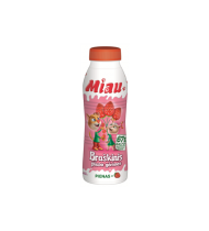 Braškinis pieno gėrimas MIAU, 2,3% rieb., 450 ml