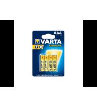 Cinko ir anglies elementai VARTA SUPER LIFE (AAA, R03), 4 vnt.