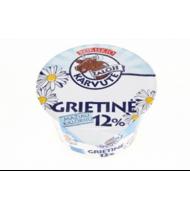 Grietinė ŽALOJI KARVUTĖ, 12% rieb., 200 g