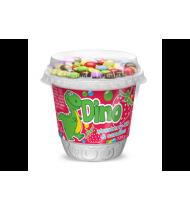 Braškių skonio jogurtas DINI su dražė, 3,7 % rieb., 135 g