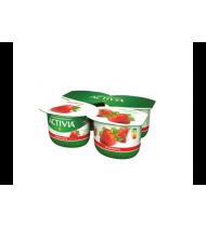 Jogurtas ACTIVIA su braškėmis, 2,6% rieb., 480 g