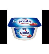 Braškių skonio jogurtas SMILE, 1% riebumo, 115 g