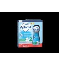 Tolesnio maitinimo pieno mišinys APTAMIL 2 (nuo 6 mėn.), 400 ml