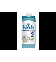 Skystas pieno mišinys NESTLE NAN 2 OPTIPRO PLUS (nuo 6 mėn.), 500 g, nuo 6 mėn.