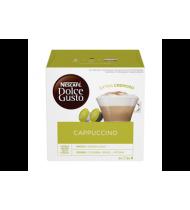 Kapsulės CAPPUCCINO DOLCE GUSTO NESCAFE, 186,4 g