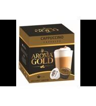 Kavos kapsulės AROMA GOLD CAPPUCCINO, 186,4 g