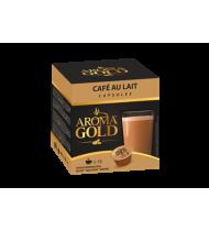 Kavos kapsulės AROMA GOLD CAFÉ AU LAIT, 160 g