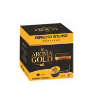 Kavos kapsulės AROMA GOLD ESPRESSO INTENSO, 128 g