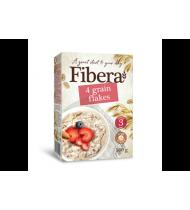 4 grūdų dribsniai FIBERA, 500 g