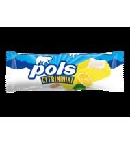 Citrininiai grietininiai ledai POLS su citrinų sk. glaistu, 120 ml