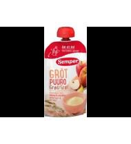Paruošta vartoti košė SEMPER su obuol. ir pers. (nuo 6 mėn.), 120 g