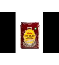 GINTARINIAI visų grūdo dalių makaronai (vamzdeliai), 400 g