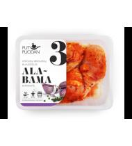 Viščiukų broilerių blauzdelės PUT PUODAN marin. ALABAMA, 550 g