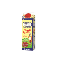 Natūralus DVARO pienas, 3,5% rieb., 1 L