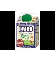 """Pienas, 2,5% rieb. """"Dvaro"""", 500 ml"""