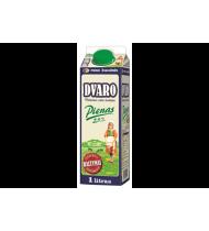 "Pienas, 2,5% rieb. ""DVARO"", 1 L"