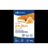 Žuvies filė NOWACO tešloje su sūrio padažu, 440 g