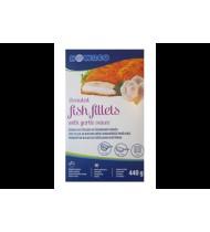 Žuvies filė NOWACO tešloje su česnakiniu padažu, 440 g
