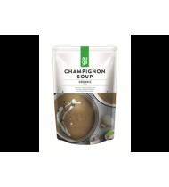 Ekologiška trinta pievagrybių sriuba AUGA, 400 g