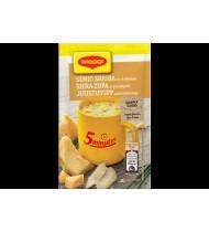 Tirpi sūrio sriuba MAGGI 5 MINUTES su skrebučiais, 19 g