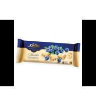Baltasis šokoladas su pūstais ryžiais ir mėlynėmis, 200 g