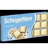 Baltasis šokoladas SCHOGETTEN STRACCIATELLA, 100 g