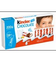 Šokoladas KINDER CHOCOLATE, 200 g