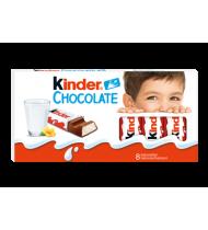 Pieninio šokolado plytelės KINDER CHOCOLATE su pieno įdaru, 100 g