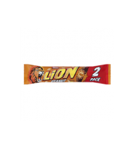 Batonėlis NESTLE LION PEANUT 2 PACK, 60 g