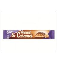Pieninis šokoladas MILKA PEANUT, 37 g
