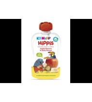 Ekol. obuolių ir ban. tyrelė HIPP su sausainiais (nuo 4mėn.), 100 g