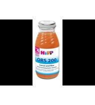 Morkų ir ryžių nuoviras HIPP ORS (nuo 4 mėn.), 200 ml