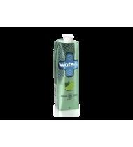 Vanduo WATER+ su žaliųjų citrinų sultimis ir mėtomis, 1 L