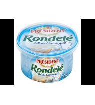 Puri varškės užtepėlė PRESIDENT RONDELE, natūrali, 31% rieb., 100 g
